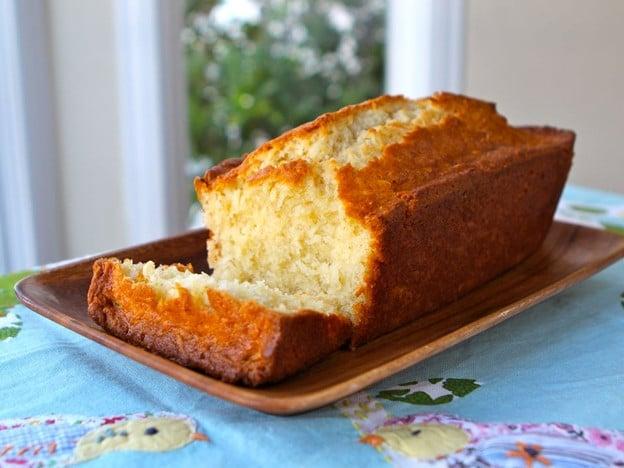 Emily Dickinson Coconut Cake Close