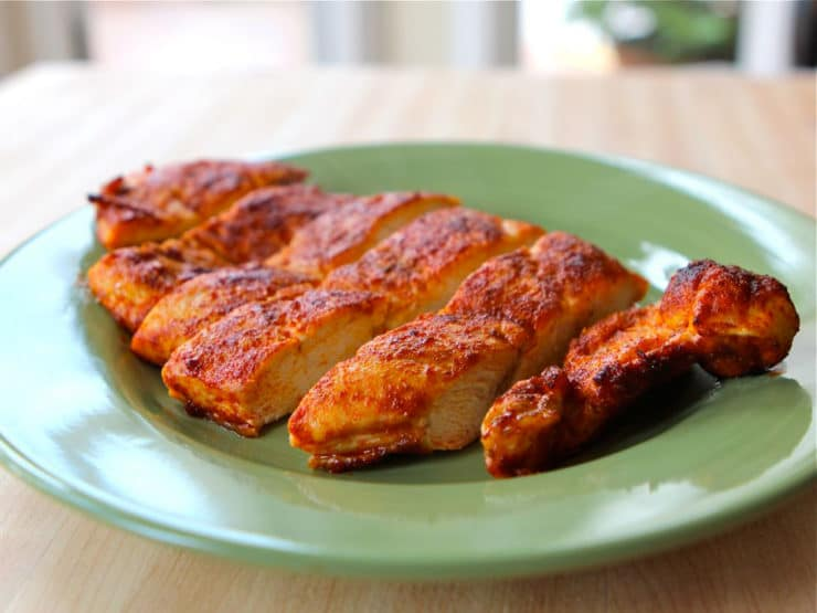 Smoked Paprika Chicken - Simple and delicious recipe using boneless  skinless chicken thighs or breasts.