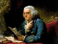 1767 Portrait Benjamin Franklin