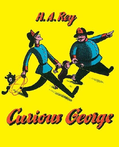 Curious George Banana Hot Chocolate - Curious George was almost lost to World War II. Learn about the Journey that Saved Curious George and try my recipe for Banana Hot Chocolate.