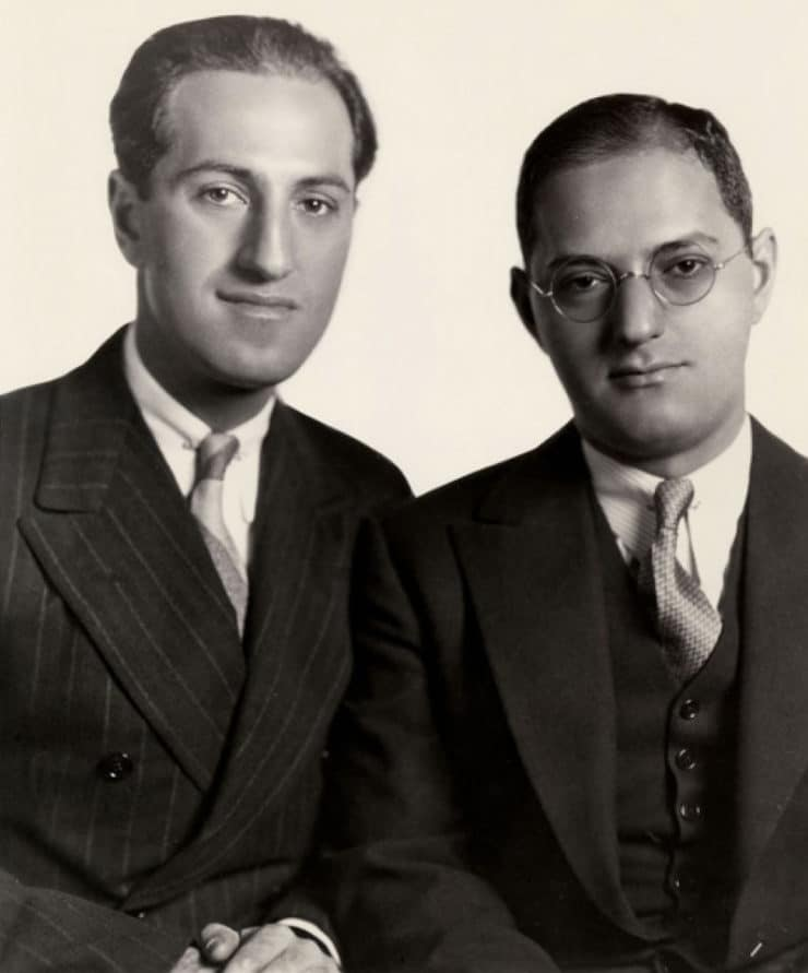 """Gershwin's Roly Poly Lyrics - Composers and lyricists use dummy lyrics as placeholders. Here are George and Ira Gershwin's silly food lyrics for their hit song """"I Got Rhythm."""""""