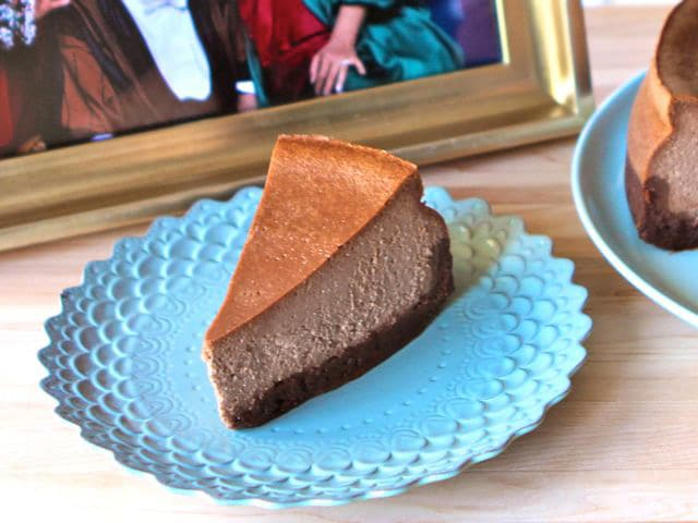 The golden girls cheesecake double fudge amaretto cheesecake for Why did bea arthur hate betty white