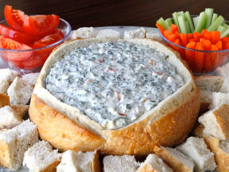 Aunt Carol's Spinach Dip