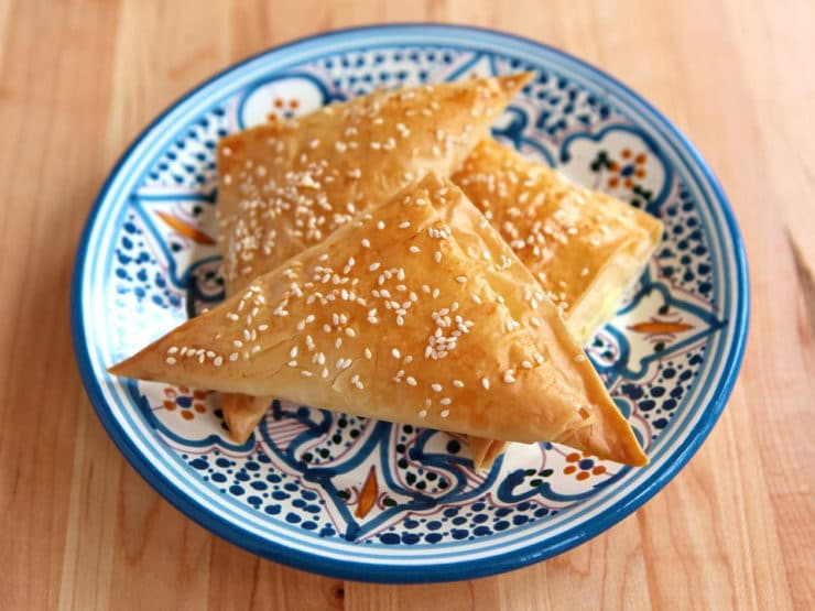 Bourekas with Filo Dough - Learn to make bourekas with filo dough and your favorite filling with this step-by-step recipe.