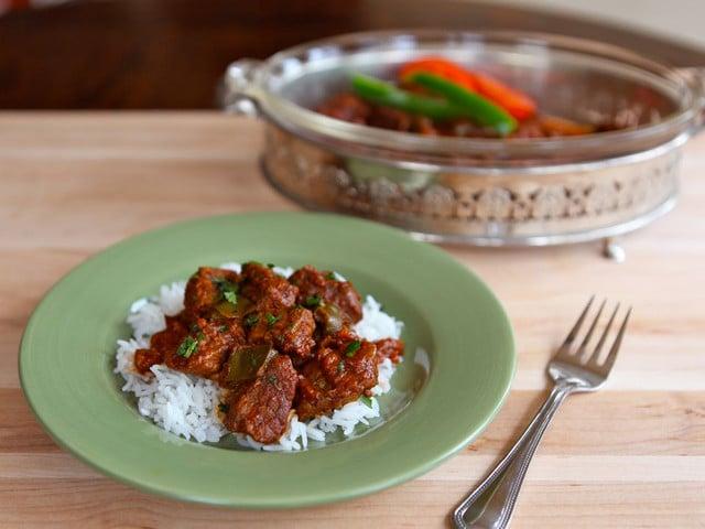 Hungarian Pork Stew Recipe — Dishmaps