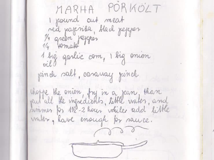 Marha Pörkölt - Learn to make traditional Jewish Hungarian Beef Stew with paprika, green bell peppers and tomato. Goulash, one pot meal, kosher, meat.