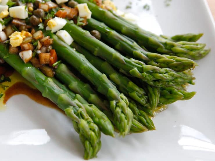 What Thomas Jefferson Ate – Marinated Asparagus