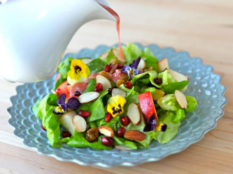 Tu B'Shevat Salad with Dressing