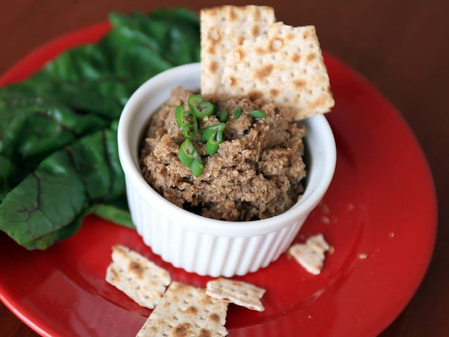 Vegetarian Chopped Liver Recipes — Dishmaps
