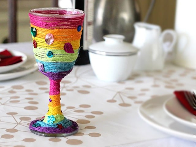 Make your own Elijah cup for Passover - Kid Friendly Holiday Craft