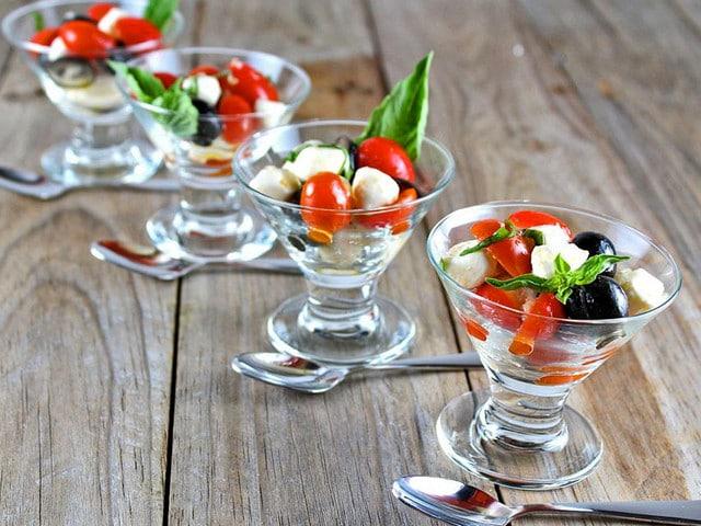 Mini Caprese Salads - Easy Appetizer Recipe