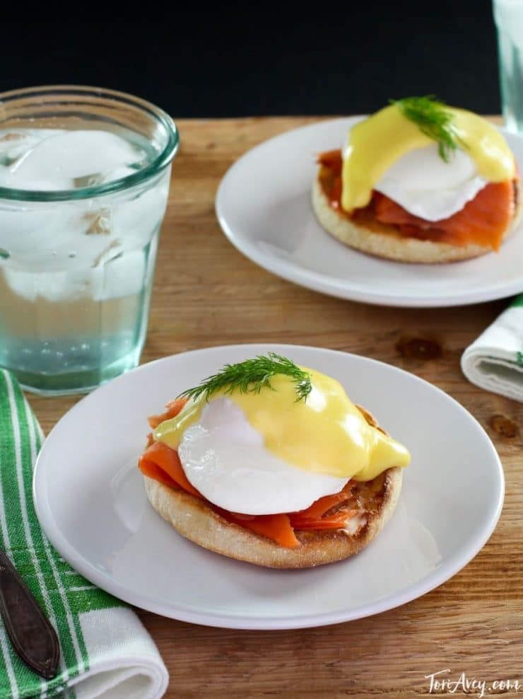Nova Lox Benedict - Delicious Eggs Benedict Recipe with Salmon Lox and Hollandaise
