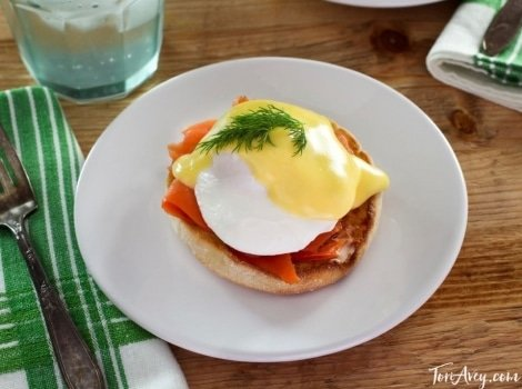 Recipe for Eggs Benedict