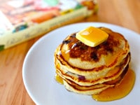Lemon Blueberry Pancakes Main