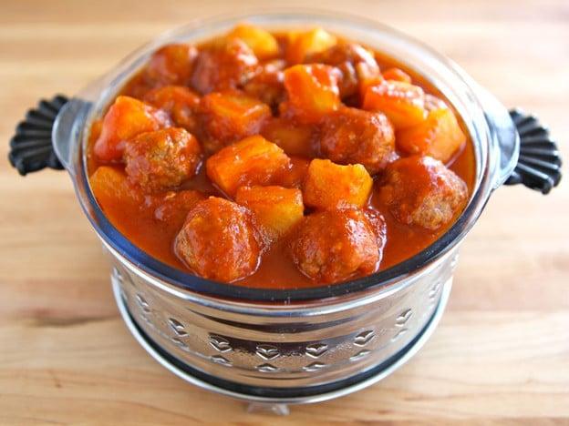 Passover Sweet and Sour Meatballs | Tori AveyTori Avey