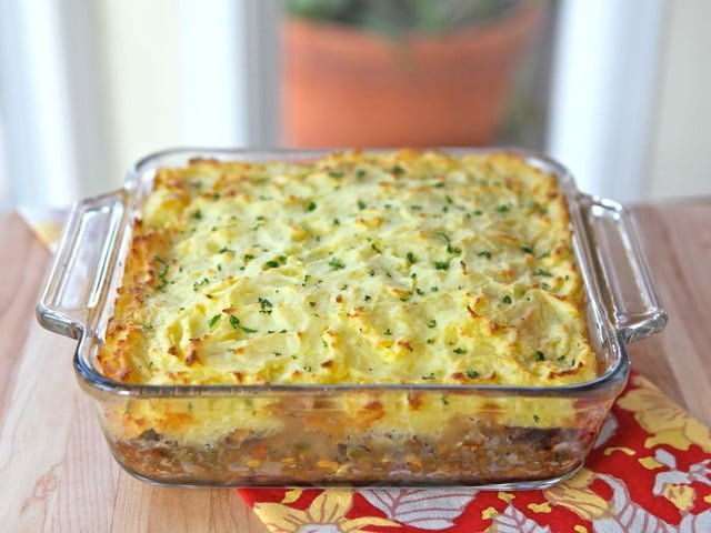 Vegetarian Shepherd S Pie