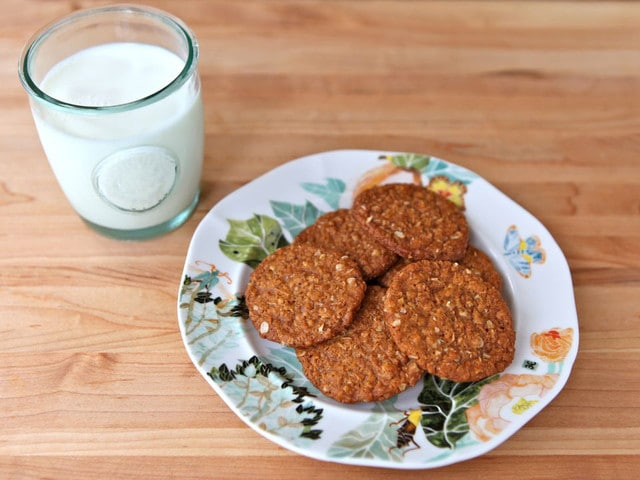 Anzac cookies recipe without coconut