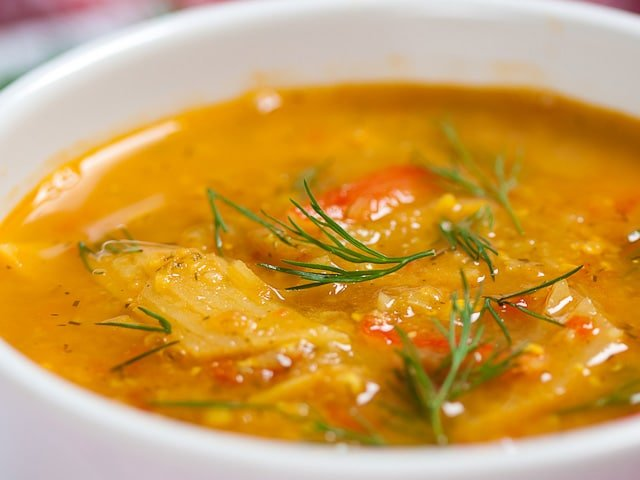 Fish Soup - Learn an exotic, colorful recipe for kosher fish soup from ...