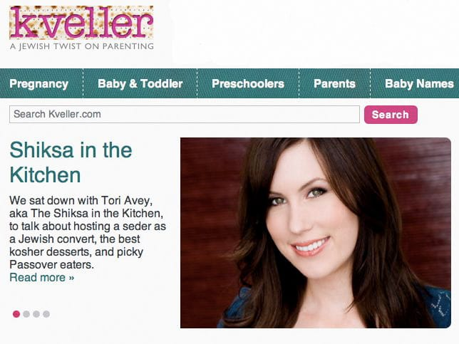 Passover Interview on Kveller