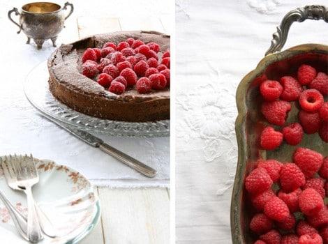 Flourless Chocolate Hazelnut Cake