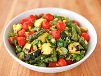Grilled Vegetable Salad on TheShiksa.com #healthy #summer #recipe