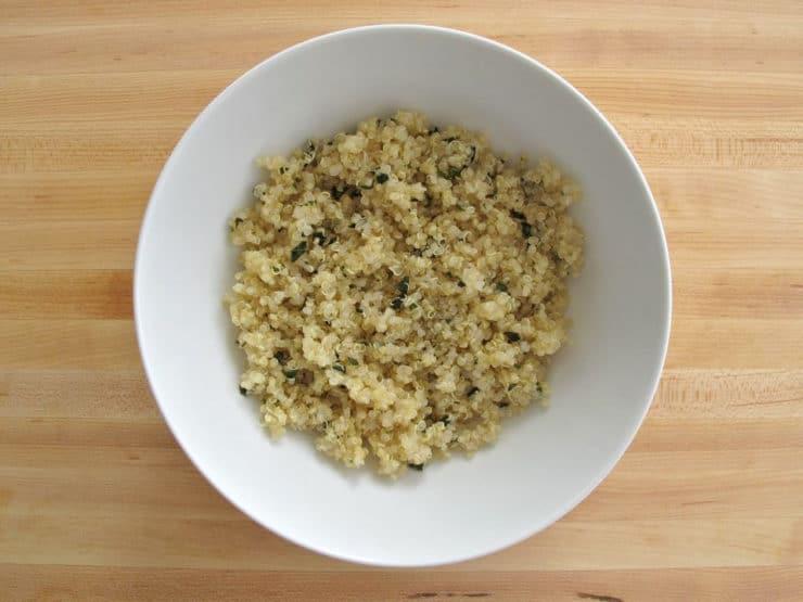 Italian Vegetable Quinoa Bowls- Healthy Gluten Free Dish