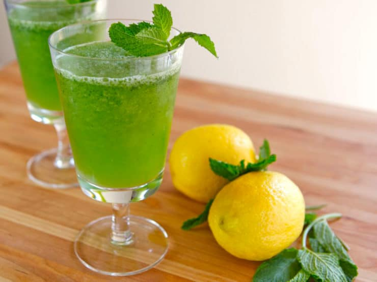 Limonana - Frozen Mint Lemonade