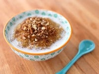 Maple Brown Sugar Quinoa Porridge 1
