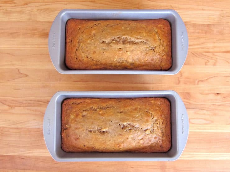 Greek Yogurt Banana Nut Bread 16