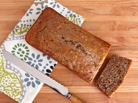 Greek Yogurt Banana Nut Bread 6