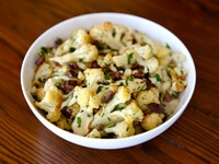 Italian Roasted Cauliflower Salad 1