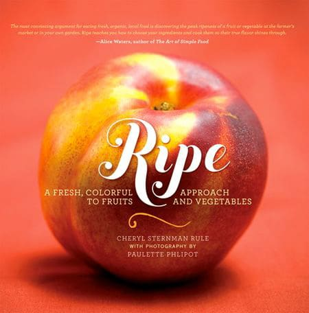 Smashed Cherries, Amaretti, and Ricotta - fresh, healthy dessert recipe from my friend Cheryl Sternman Rule's cookbook, Ripe.