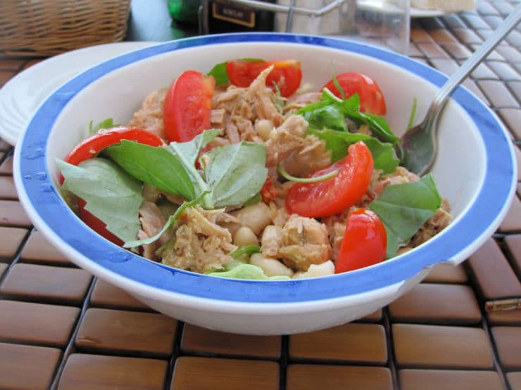 Tuna Salad Caprese - Simple Healthy Mediterranean Recipe