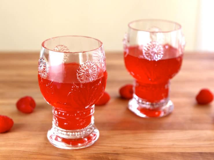 Anne of Green Gables Raspberry Cordial - Make traditional Raspberry Cordial from the Anne of Green Gables book series by L.M. Montgomery. Recipe and step by step tutorial. Non-alcoholic.