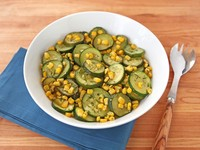 Zucchini Corn Sauté