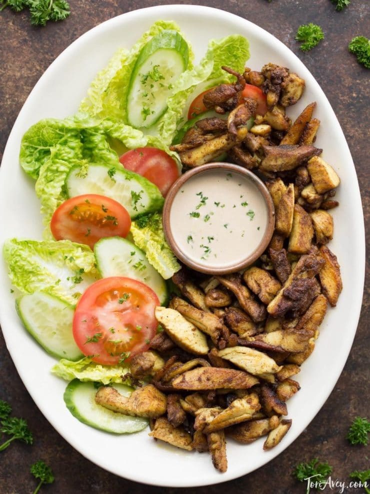 Chicken Shawarma Recipe How To Make Shawarma At Home