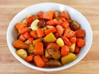 Citrus Honey Glazed Vegetables