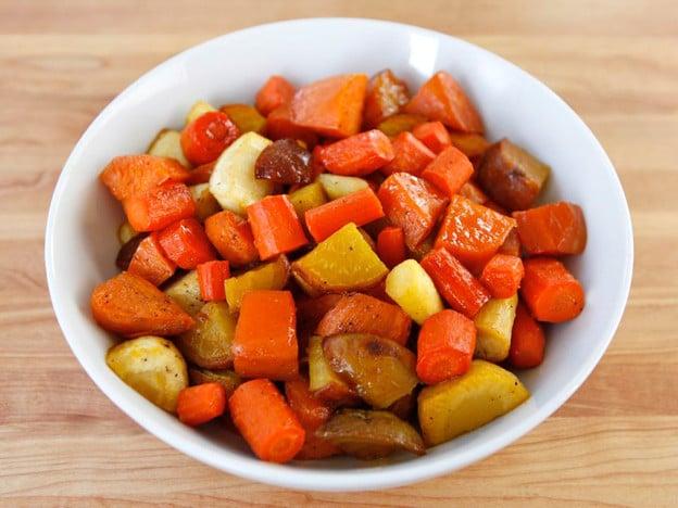 Citrus Honey Glazed Root Vegetables - Side Dish Recipe