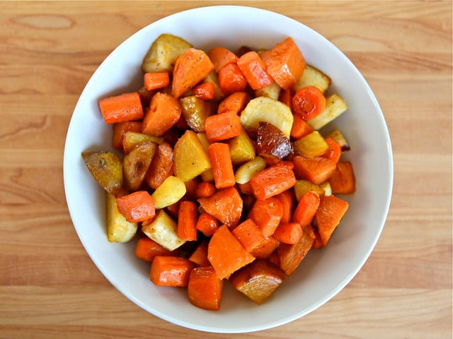 honey roasted vegetables honey roasted root vegetables citrus salad ...