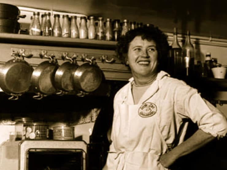 Brave, Curious, Bright & Fearless: A Tribute to Julia Child - Learn about the life of Julia Child, the first food celebrity, and her influence on the American culinary landscape.