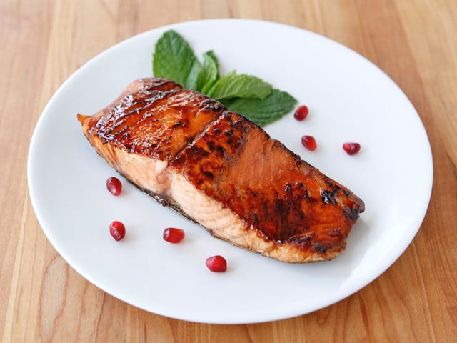 pineapple pomegranate salsa thai herbal salmon salad phla pla salmon ...