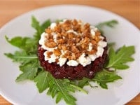 Roasted Beet Tartare