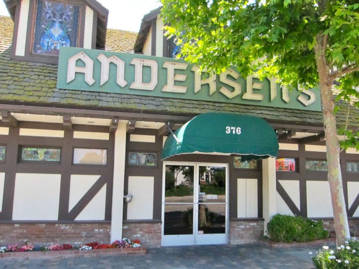 Andersen's Famous Split Pea Soup - Vintage recipe for Andersen's Split Pea Soup from Andersen's Restaurant in Buellton, California. Family recipe. Vegan, Gluten Free.