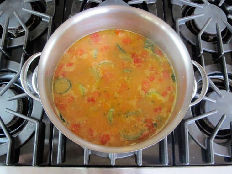 Autumn Sweet Potato Soup 5