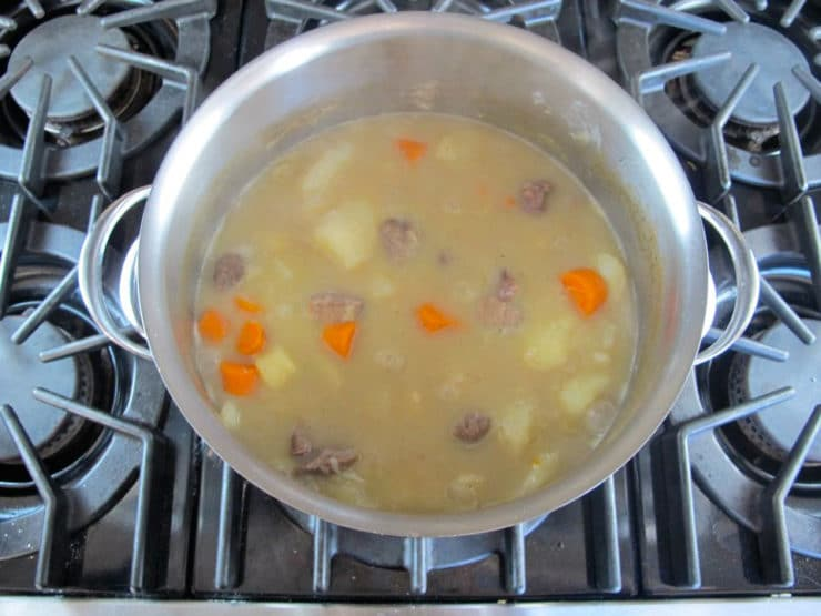 Civil War Commissary Beef Stew 6