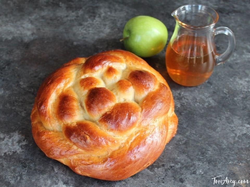 Apple Honey Challah by Tori Avey - Includes Delicious Tested Recipe and Free Braiding Instructions for a Perfect Challah Every Time