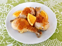 Joan Nathan's Honey Orange Chicken