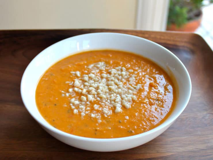 Autumn Sweet Potato Soup