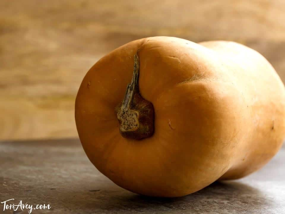 All About Butternut Squash - How to peel, seed, roast and prepare hard-skinned Butternut Squash. Save money by prepping this winter squash yourself, then toast the seeds!