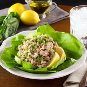 Healthy Mediterranean Tuna Salad